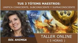 Taller online: TUS 3 TÓTEMS MAESTROS - Sol Ahimsa