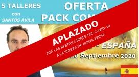 Del 16 al 20 Septiembre 2020 ( Tenerife - España ) RESERVA - Pack Completo 5 Talleres non Santos Ávila
