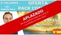 Del 16 al 20 Septiembre 2020 ( Tenerife - España ) RESERVA - Pack Completo 5 Talleres con Santos Ávila