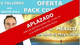 Del 28 Abril al 3 Mayo 2020 ( CDMX, México ) RESERVA - Pack Completo 6 Talleres Santos Ávila