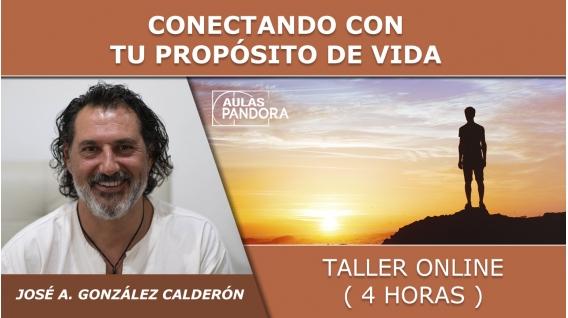 Taller online: CONECTANDO CON TU PROPÓSITO DE VIDA - José Antonio González Calderón