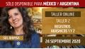 24 Septiembre 2020 ( Online en Directo ) TALLER 2: Registros Akashicos 1 y 2 - Sol Ahimsa