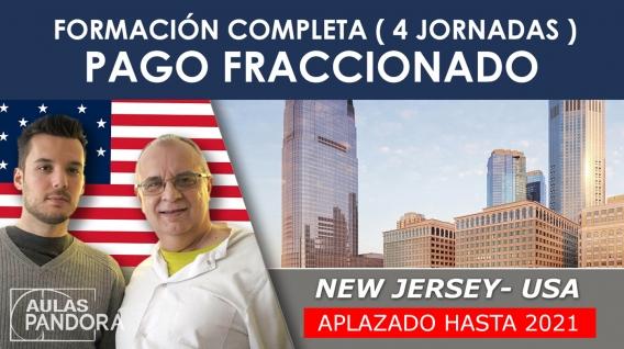 PAGO FRACCIONADO - Aplazado hasta 2021  (New Jersey, EEUU) - Formación completa ( 4 Jornadas ), LA NUEVA TERAPIA LNT®