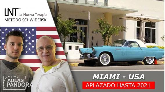 Aplazado hasta 2021 ( Miami, EEUU  ) - FORMACIONES LA NUEVA TERAPIA LNT®, Método Schwiderski