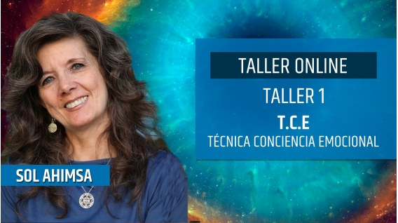Taller online: T.C.E. Técnica Conciencia Cuántica - Sol Ahimsa