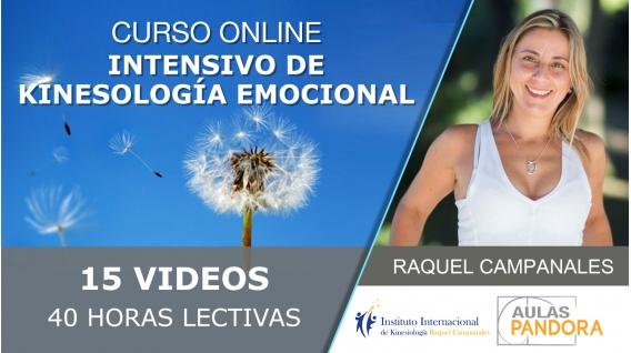 Del 22 al 26 Julio 2019 ( Streaming en Directo ) Curso Online: INTENSIVO DE KINESOLOGÍA EMOCIONAL con Raquel Campanales