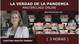 Masterclass online: LA VERDAD DE LA PANDEMIA - Cristina Martín Jiménez