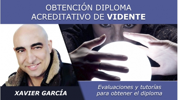 OBTENCIÓN DIPLOMA ACREDITATIVO DE VIDENTE