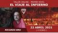 22 Abril 2021 ( Online en Directo ) Taller: EL VIAJE AL INFIERNO ( Nivel 1 ) - Ricardo Bru
