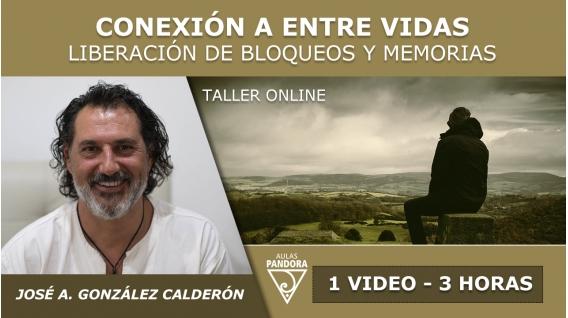 Taller online: CONEXIÓN A ENTRE VIDAS - José Antonio González Calderón