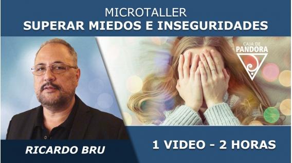 Microtaller: SUPERAR MIEDOS S INSEGURIDADES - Ricardo Bru