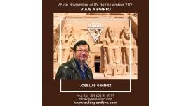 Del 26 Noviembre al 9 Diciembre 2021 - VIAJE A EGIPTO con José Luís Giménez