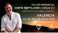 22, 23, 24 y 25 Julio 2021 ( Valencia ) - TALLER CORTE REPTILIANO ( Ciclo II ) - José Antonio González Calderón
