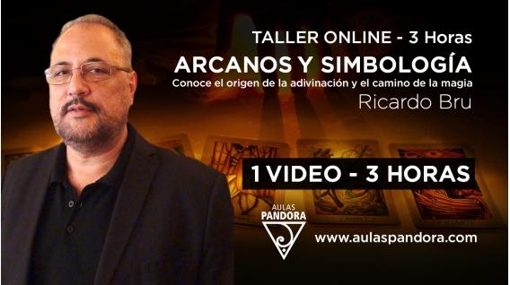 Taller online: ARCANOS Y SIMBOLOGÍA- Ricardo Bru