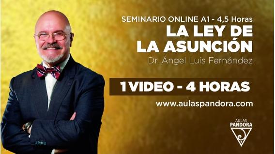 ( 06 - 2021 )  Seminario online A1: LA LEY DE LA ASUNCIÓN con el Dr. Ángel Luís Fernández