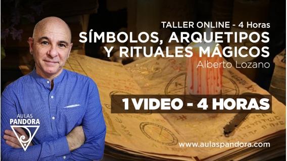 Taller Online: SÍMBOLOS, ARQUETIPOS Y RITUALES MÁGICOS - Alberto Lozano