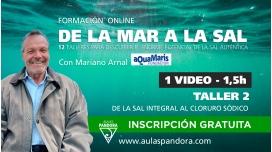 Formación online: DE LA MAR A LA SAL ( Taller 2: De la sal integral al cloruro sódico )