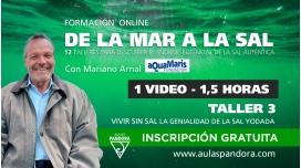 Formación online: DE LA MAR A LA SAL ( Taller 3: Vivir sin sal )