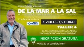 Formación online: DE LA MAR A LA SAL ( Taller 4: La Sal, paradigma de la sapiencia )