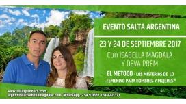 23 y 24 Septiembre 2017 ( Salta, ARGENTINA ) - PREINSCRIPCIÓN - Los Misterios de lo Femenino para Hombres y Mujeres