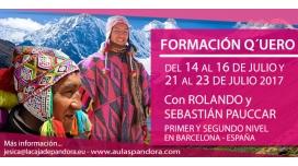 14, 15 y 16 Julio 2017 ( Barcelona ) - FORMACIÓN Q'UERO - Primer Nivel - con Rolando y Sebastián Pauccar