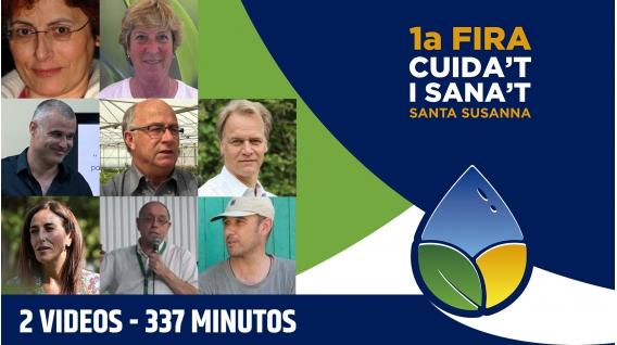 diptico 11ª FERIA CUIDATE Y SÁNATE ( Conferencias en Streaming )