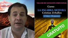 (GRATUITO) - TALLER DE SANACIÓN EMOCIONAL: Curso – LA PALABRA MOTORA