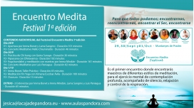 Encuentro Medita Festival 1º edición