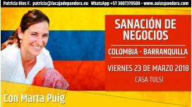 ( Colombia - Barranquilla ) - RESERVA - Taller Sanación de Negocios, Proyectos e Ideas - Marta Puig