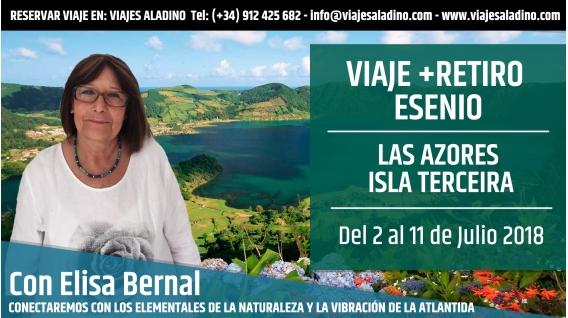 VIAJE RETIRO ESENIO en Las Azores, Isla Terceira con Elisa Bernal