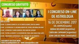 I CONGRESO ONLINE DE ASTROLOGÍA de La Caja de Pandora