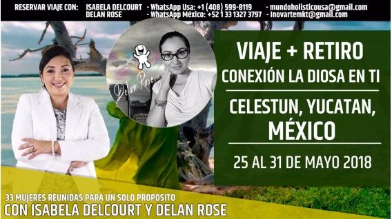 ( México ) VIAJE + RETIRO - Conexión de la Diosa en Tí