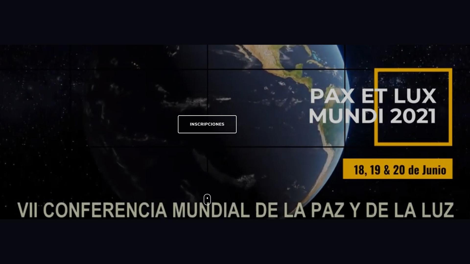 VII Conferencia PAX LUX MUNDI