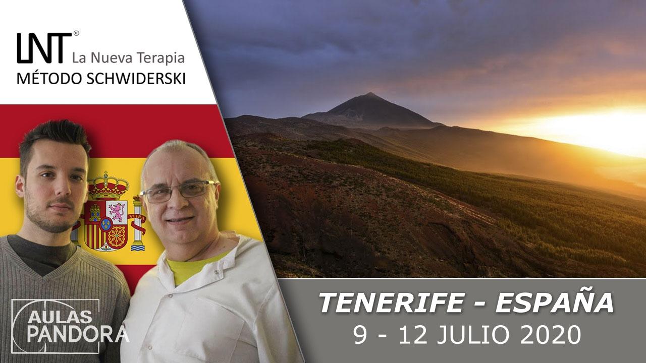9 al 12 julio 2020 ( Tenerife, España) - Formación completa ( 4 Jornadas ), LA NUEVA TERAPIA LNT®