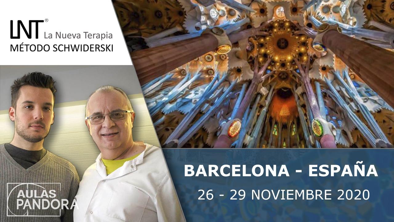 26 al 29 Noviembre 2020 ( Barcelona - España ) - FORMACIONES LA NUEVA TERAPIA LNT®, Método Schwiderski