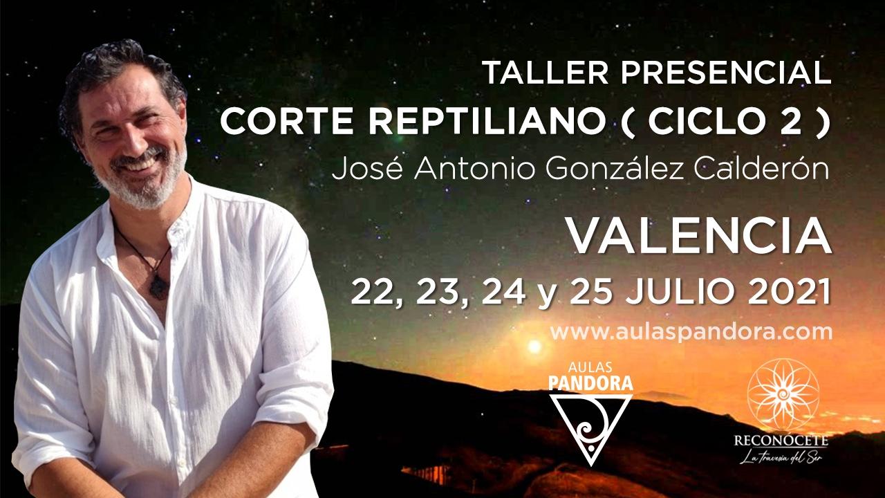 TALLER CORTE REPTILIANO - Valencia Julio 2021